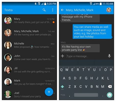 messaging app for android 15 best free text messaging apps for android users