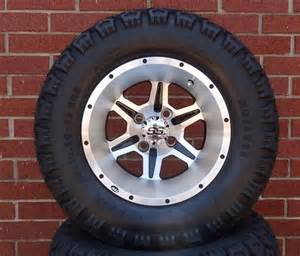 Tires And Rims Combo Golf Cart Zone Of Itp Ss106 Lifted Tire And Wheel