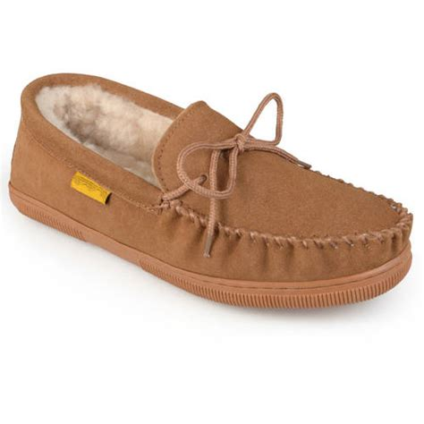 House Shoes Walmart by Daxx S Moccasin Sheepskin Slippers Walmart