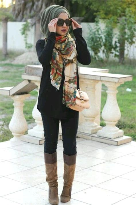 hijab style  modest outfits  trendy girls