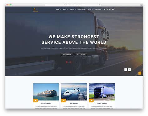 Most Popular Free Transportation Website Templates 2019 Colorlib Most Popular Free Website Templates