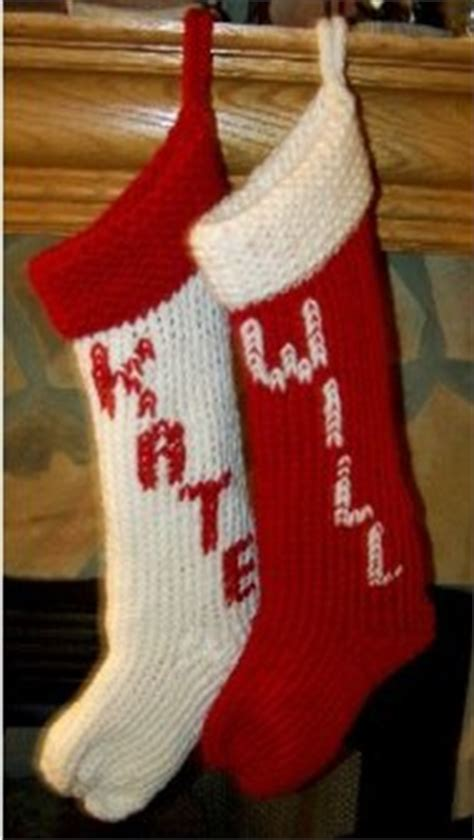 Free Knitting Pattern For Large Christmas Stocking | 3 festive knit christmas stockings allfreeknitting com