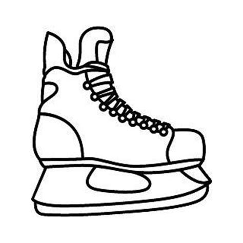 hockey skates coloring pages ice skate coloring page