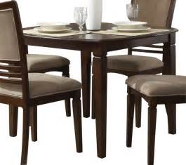 42 Inch Dining Table Liberty Furniture Davenport 42 Inch Square Dining Table In Medium Wood Transitional Dining