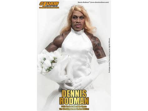 Almera Dress dennis rodman wedding dress limited edition 1 6 scale figure