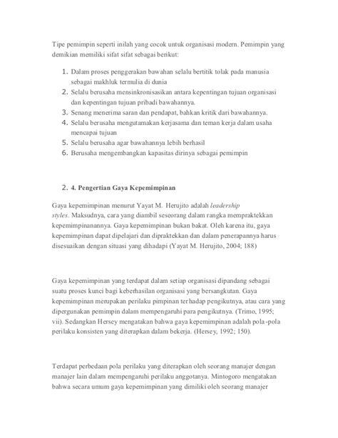 Organisasi Dan Kepemimpinan Modern Graha Ilmu 1 gaya kepemimpinan