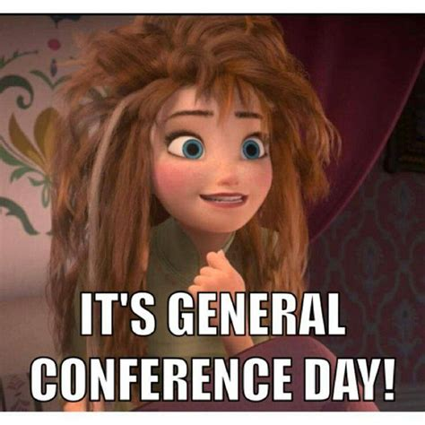 General Conference Memes - mormon memes from the movie frozen