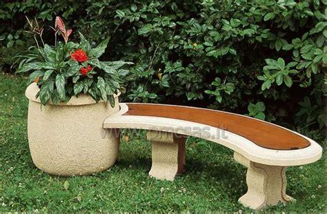 panchine da esterno panchine da esterno pmc prefabbricati e arredo giardino