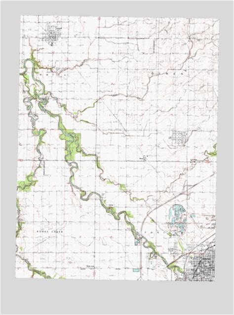 pontiac il map northwest pontiac il topographic map topoquest