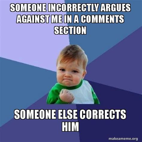 what is sectioning someone someone incorrectly argues against me in a comments