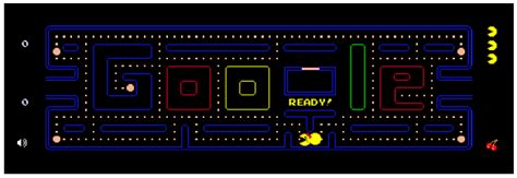 doodle do pacman play pac on and celebrate it s 30th anniversary