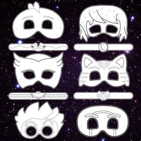 printable owlette mask pj masks printable masks related keywords pj masks