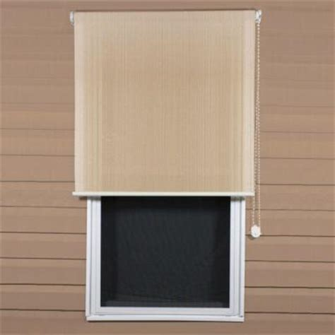 Uv Blocking Blinds Coolaroo Select Southern Sunset 90 Uv Block Exterior