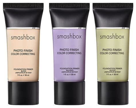 color correcting primer new smashbox photo finish primers and color correctors