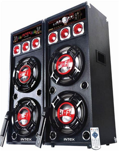 intex launched 4 dj series speakers starting at rs