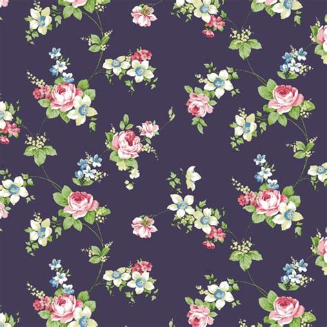 flower pattern wall antique rose navy flower pattern self adhesive wallpapers
