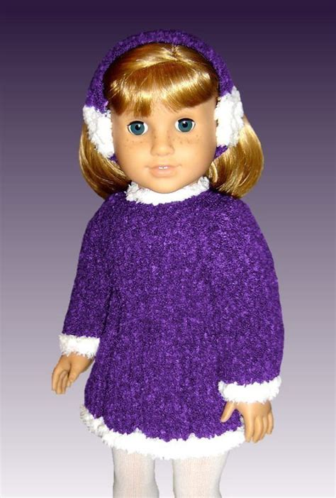 dolls for dressing in knitting knitting pattern fits american doll and 18 inch doll