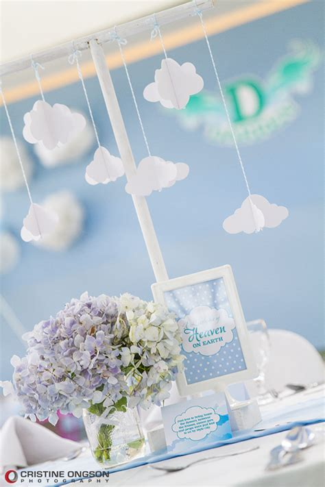 heaven themed decorations heaven and themed one charming day