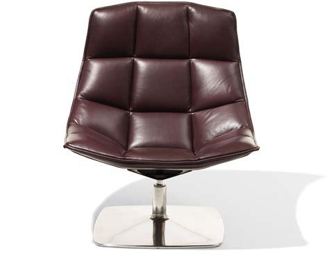 Jehs Laub Lounge Chair by Jehs Laub Pedestal Lounge Chair Hivemodern