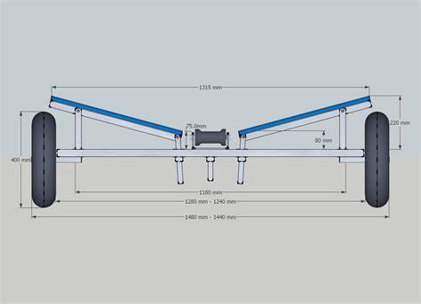 standard launching trolley upto 16ft 6in standard - Boat Trolley Plans