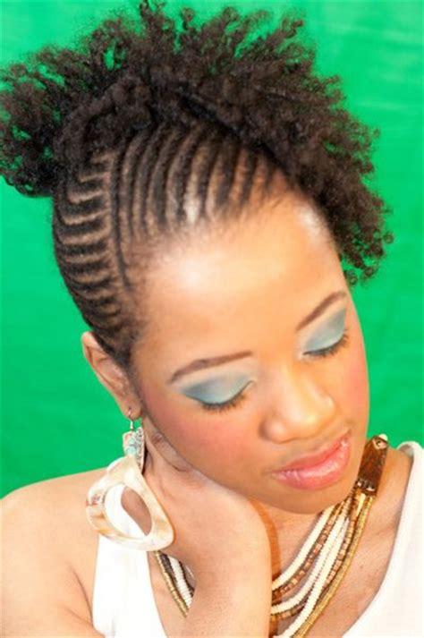 flexi rod hairstyles black women cornrow and flexi rod set on natural hair natural hair