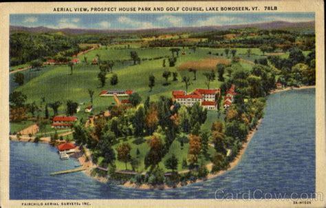 lake house bomoseen vt aerial view prospect house park and golf course lake bomoseen vt