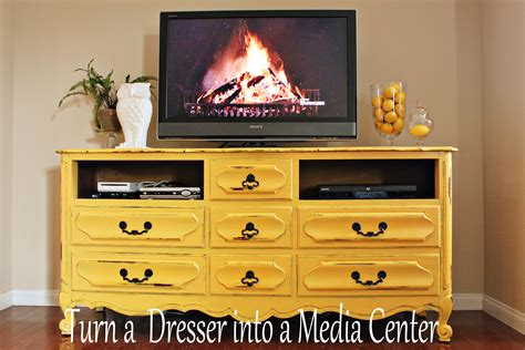 Diy Dresser Into Entertainment Center by Vintage Dresser Into Media Center No 2 Pencil