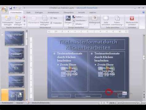 tutorial powerpoint deutsch powerpoint pr 228 sentation tutorial deutsch folienmaster
