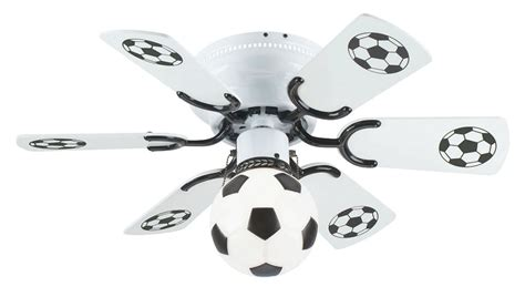 soccer ceiling fan soccer ceiling fan 12 methods to bring real atmosphere