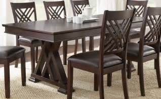 9 Piece Dining Room Table Sets by Homelegance Deryn Park 9 Piece Double Pedestal Dining Room