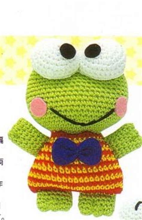 amigurumi keroppi pattern las 25 mejores ideas sobre patrones de crochet de