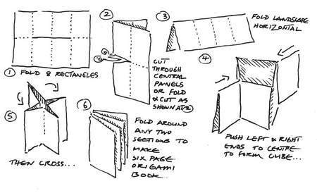 How To Fold An Origami Book - books gemsjots