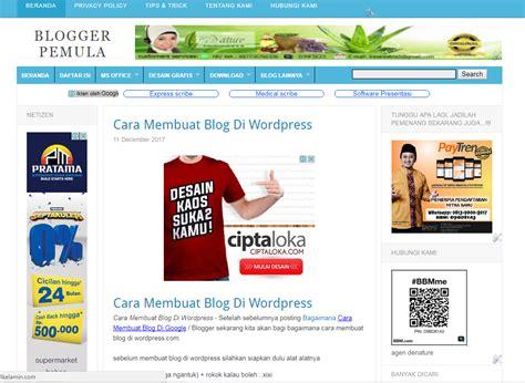 cara membuat blog keren untuk pemula cara membuat blog keren untuk pemula blogger pemula