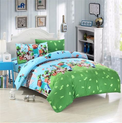 Minecraft Duvet Cover Set 1000 Ideas About Minecraft Bedding On Pinterest