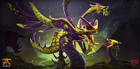 dota 2 venomancer wallpaper steam workshop hazards of the primeval nova venomancer set