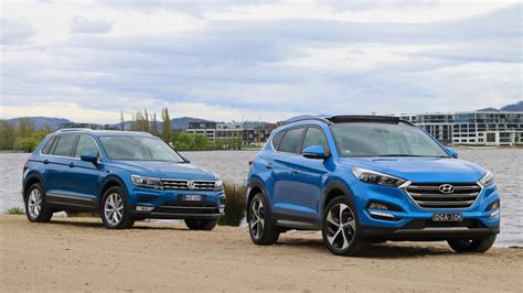 volkswagen tucson car comparisons archives chasing cars