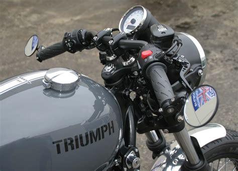 Bmw Motorrad H Ndler D Sseldorf by Triumph Thruxton Quot Ace Quot Motorrad Fotos Motorrad Bilder