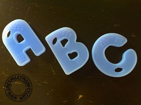 Gift Letter Maximum Abc Teething Letters Gift Idea