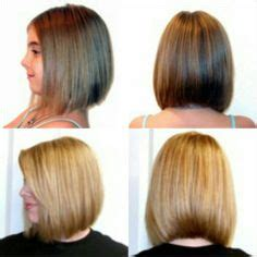 beveled hairstyles for women blunt shoulder length bob back view haircut ideas