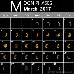 Calendar 2018 With Moon Phases Find Special Dates With March 2017 Moon Calendars Free