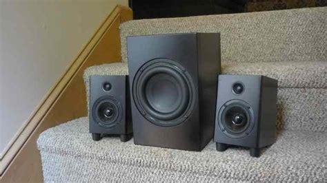 best bedroom speaker system the peds a 2 1 speaker system for your desk den