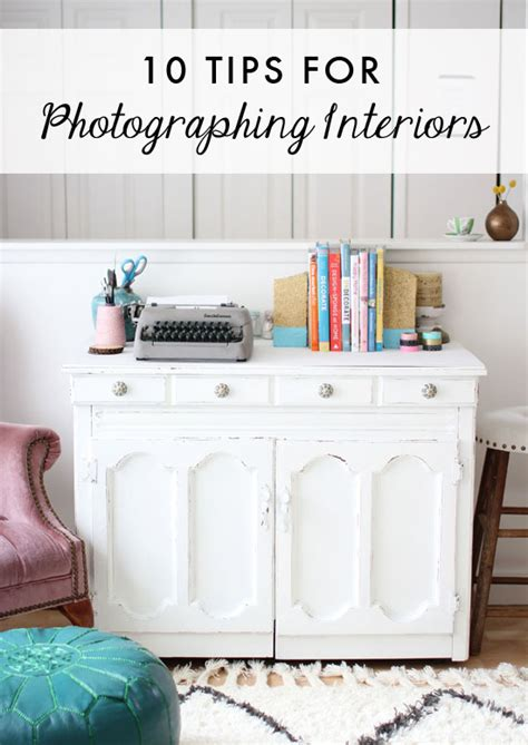 10 tips for photographing interiors at home in