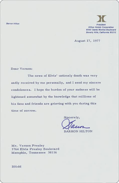 Condolence Letter On Death Of Sister   business letter