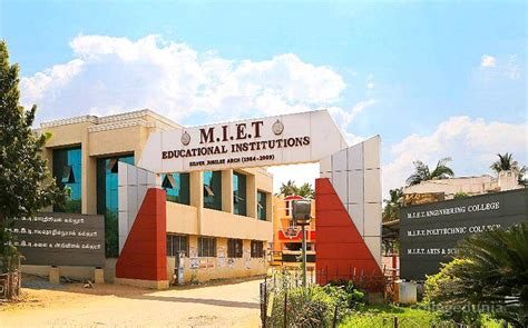 Top Mba Colleges In Trichy by M I E T Engineering College Trichy Images Photos