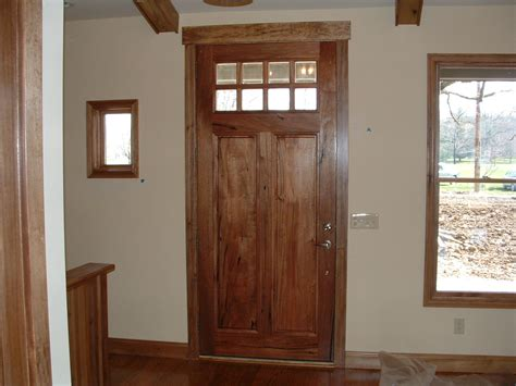 build  custom home part  exterior doors