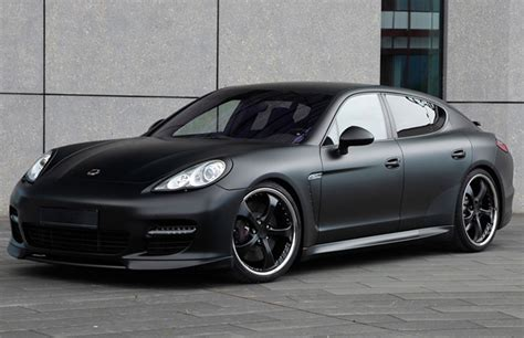 porsche panamera black porsche panamera black edition by techart