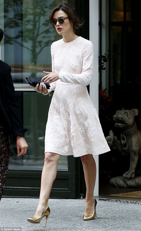Keyra Dress Maroon By Sheika keira knightley steps out in a bridal inspired dress on