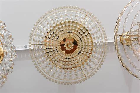 Swarovski Chandeliers For Sale Regency Style Flush Mount Chandelier Swarovski Crystals Dolzauer For Sale At 1stdibs