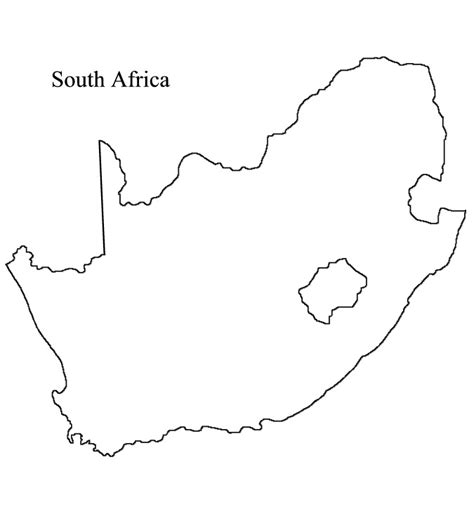south africa map outline mrlopez s world geo africa project 2015 2016