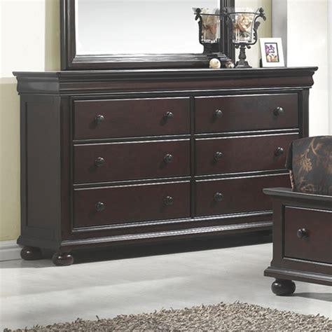 hyde park 6 drawer dresser merlot dcg stores